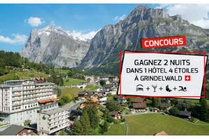 séjour de 2 nuits pour 2 personnes en hôtel 4 en Suisse