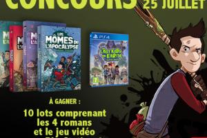 série ''Les mômes de l'apocalypse'' et un PS4