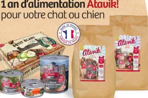 alimentation pour chienchat Atavik
