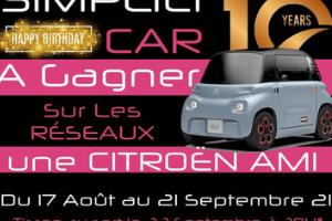 voiture Citroën Ami 100% électrique