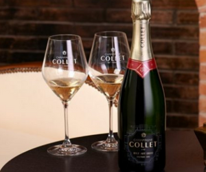 bouteille de champagne Collet