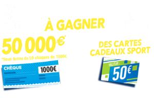 chèque Charal de 1000 euros