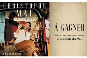concert de Christophe Maé