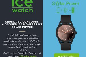 montre Ice Solar Power