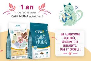 repas Catit Nuna pour chat