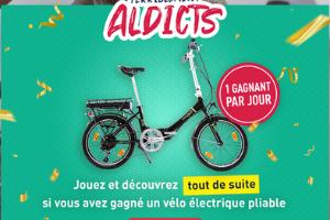 vélo électrique pliable Formula à gagner